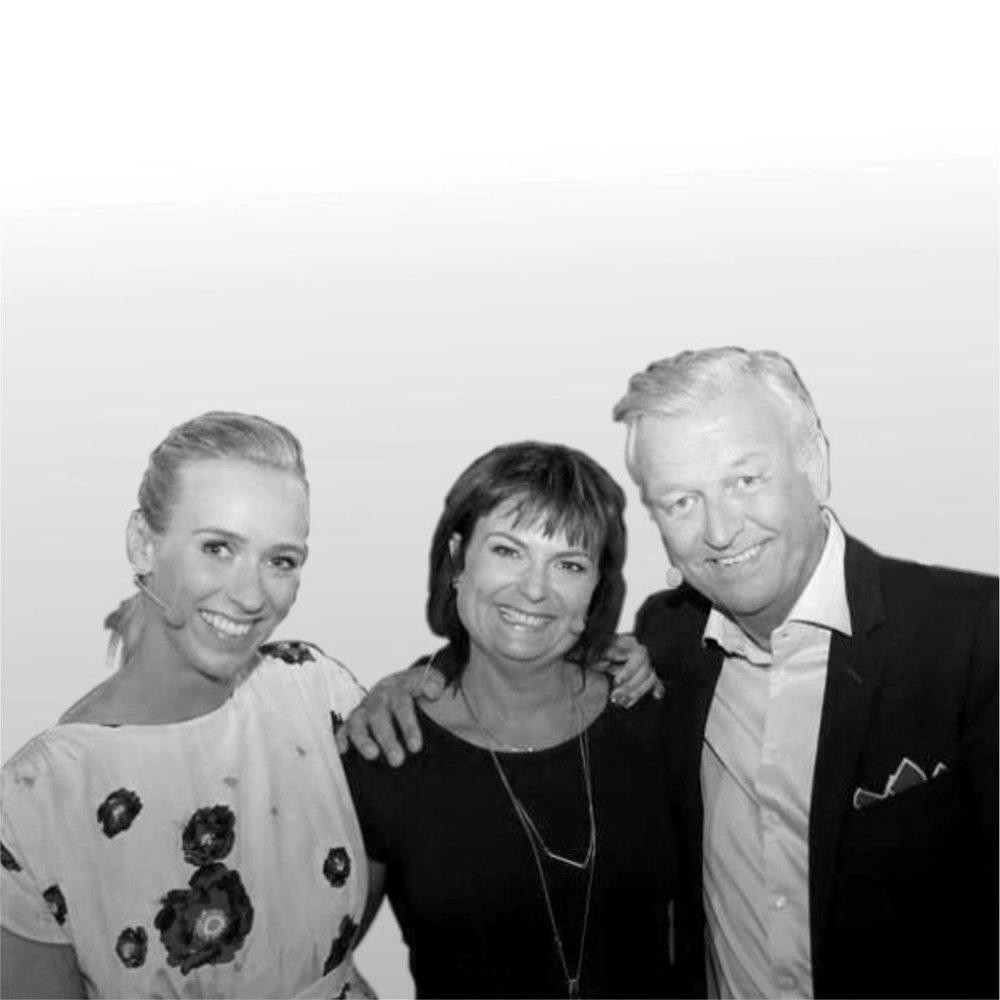 Katharina Flatland,Marianne Dybwad og Hallvard Flatland | Aksjon Sunnaas 2015