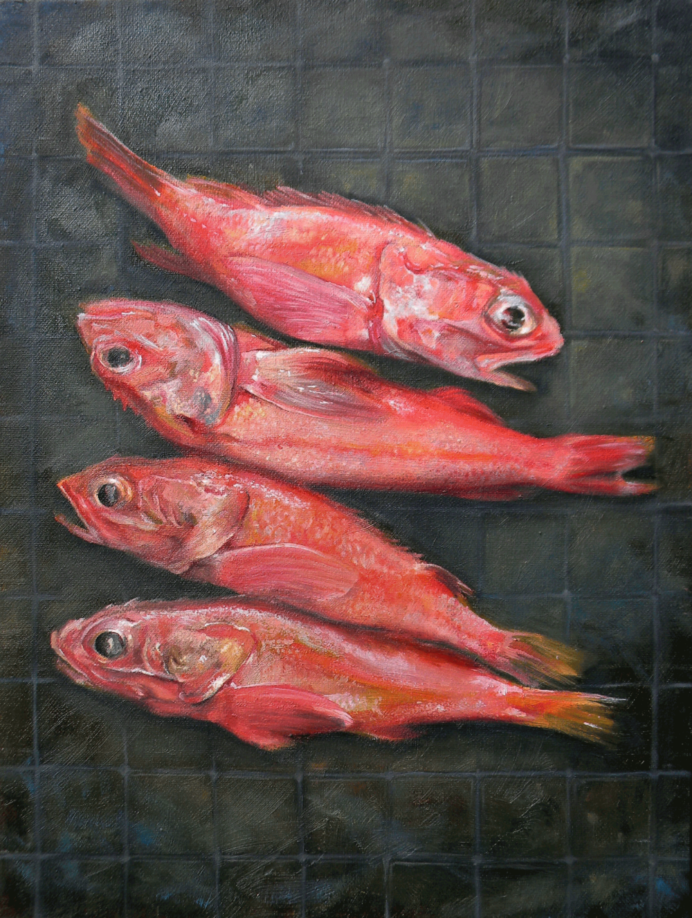 Orona_MorningFish_12%22x16%22_OilonCanvas_2019.png