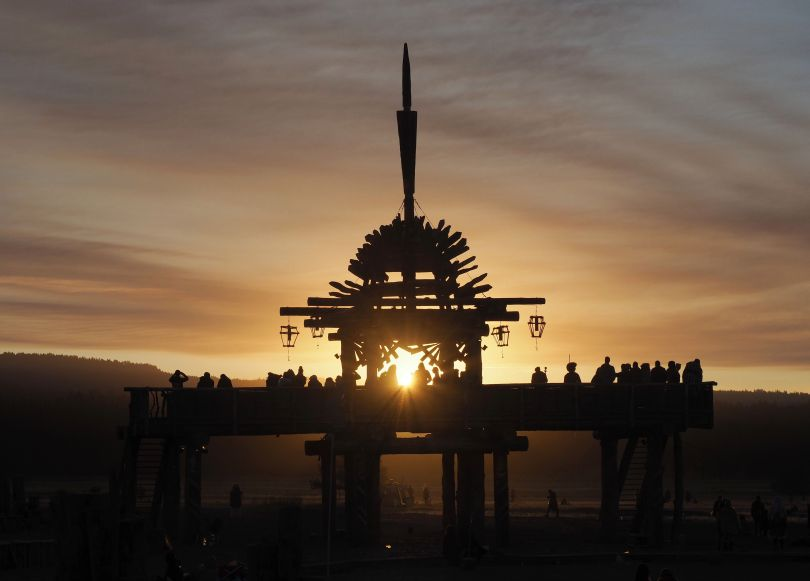 Solar Eclipse Temple