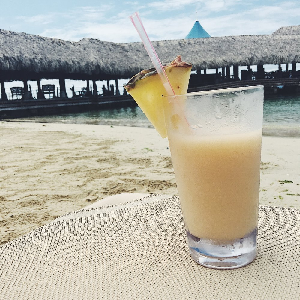 Pina coladas on the beach? Mmmkay...