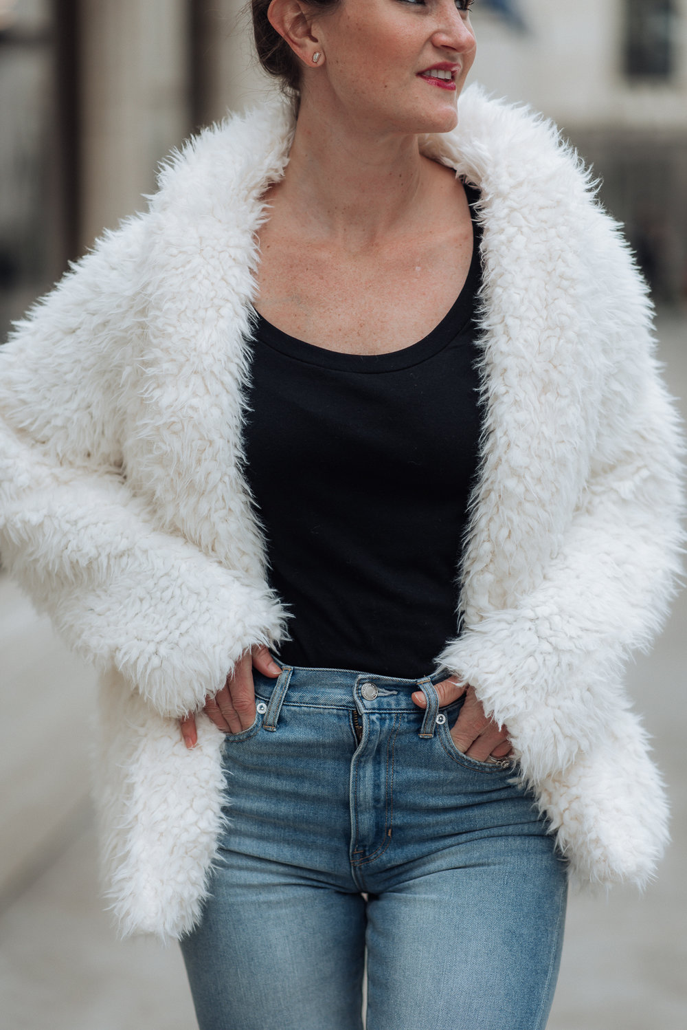 affordable faux fur jacket | romeo and juliet faux fur jacket