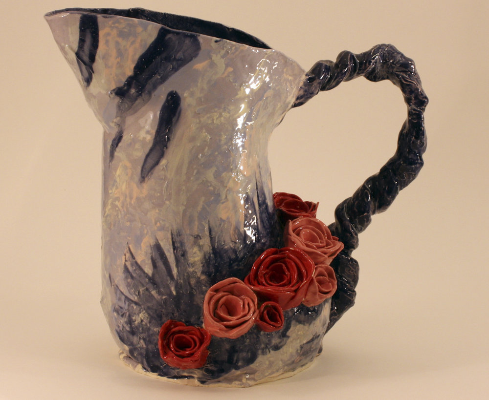 Rose Pitcher - Janice Webber