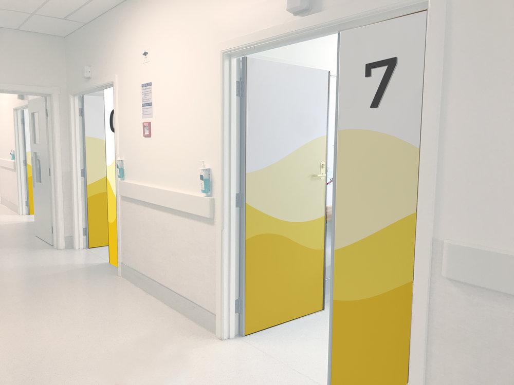 Corridor Door Wraps_3.jpg & Starship Childrenu0027s Outpatient Clinic Wayfinding u2014 Eden J. Short