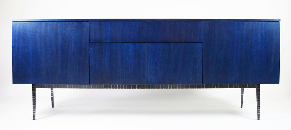 THE BLUES - introducing thepiedra desk & credenza