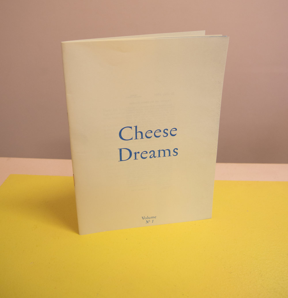Cheese Dreams zine Vivienne La