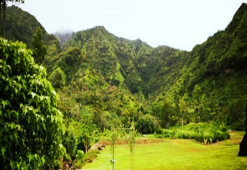 Set in the beautiful Mountains of Kauai