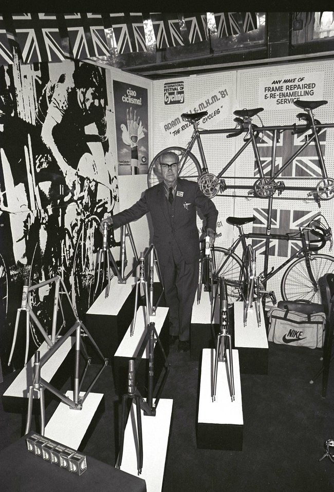Adam Hill, International Festival Of Cycling 1981.