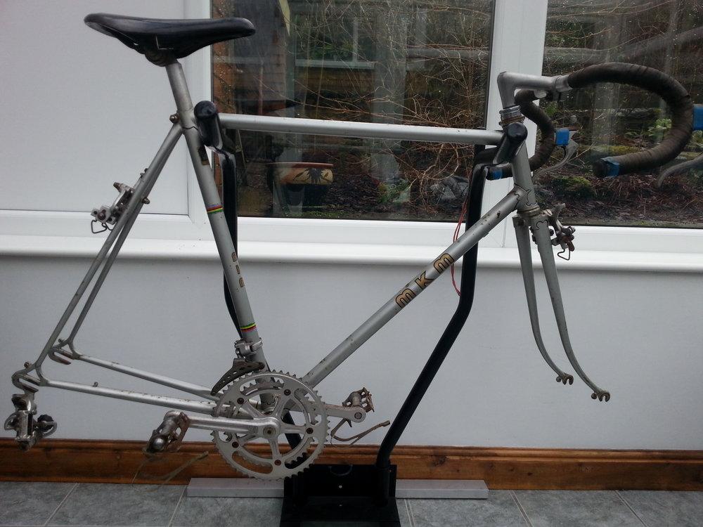 Silver MKM Frame #554