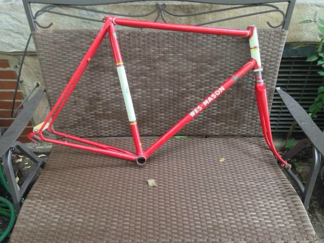 Red Wes Mason Frame# 823