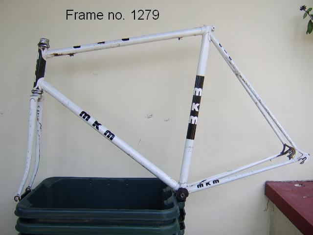 Graham Crabtree's White MKM Frame #1279