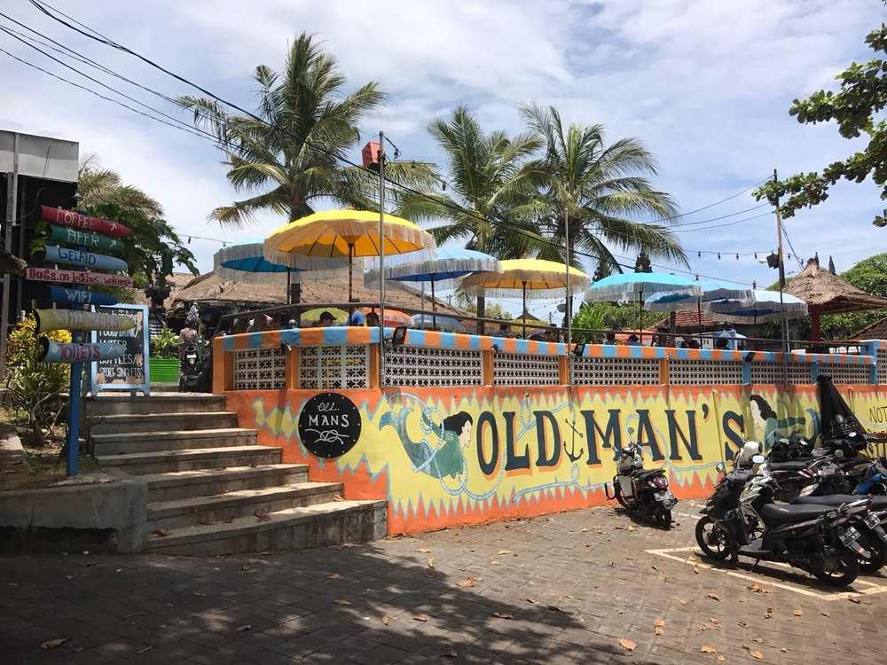 Old Man's Entrance Canggu Bali