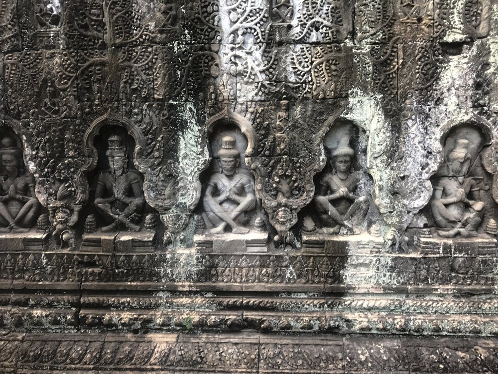 Angkor Wat Carvings, Cambodia