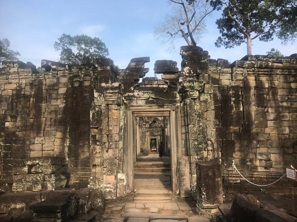 Preah Khan Angkor Wat Cambodia