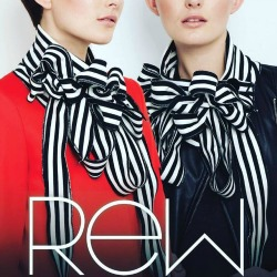 Disregarding obvious trends the focus of Rew is to produce garments that may be worn and treasured over time. Using a variety of textured and weighted fabrics in the most innovative format creates Rew: Really Easy Wear by Rachel Emma Wright.
