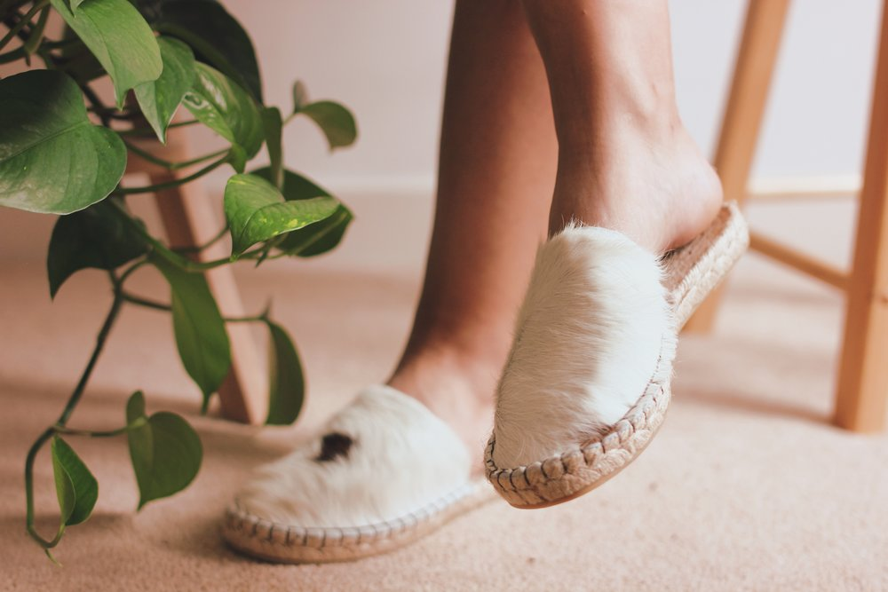 Ethically sourced Juta calfskin espadrilles