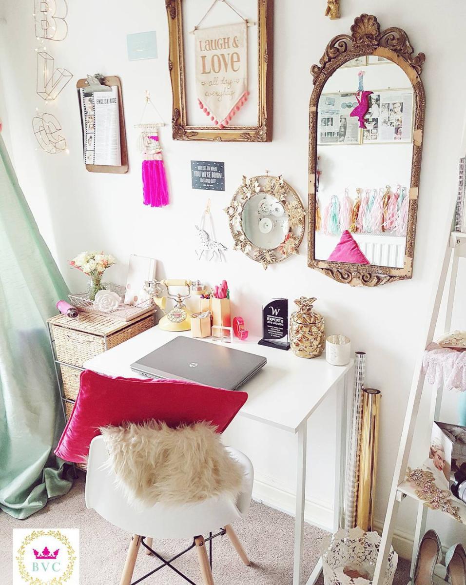 Desk Inspiration from Bespoke Vintage Castle