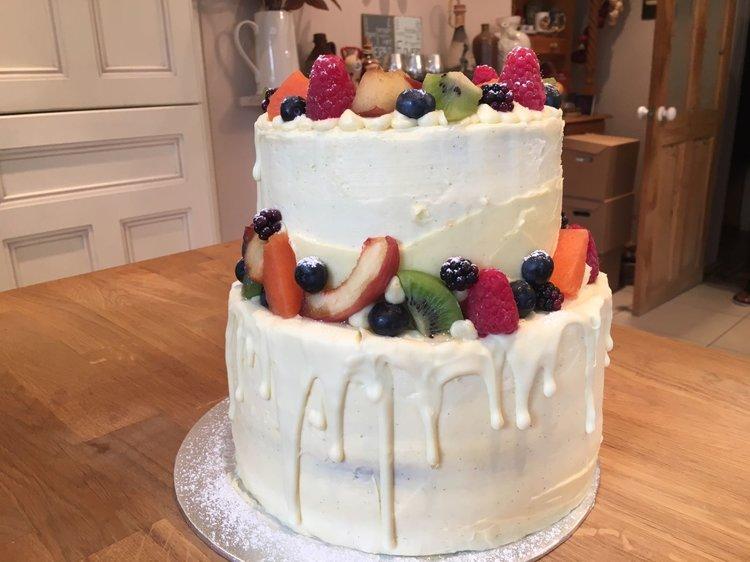 Den Bake Shop wedding cake fruit.jpg