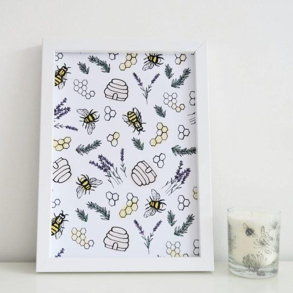 Bee Artwork | £10.00