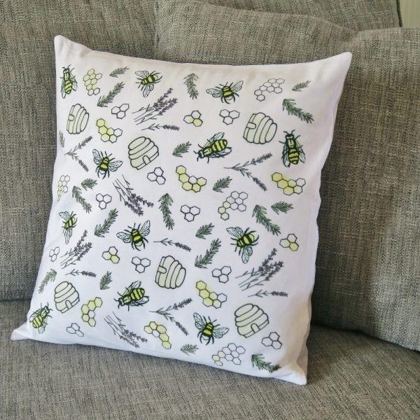 Bee & Honey Cushion   £24.00
