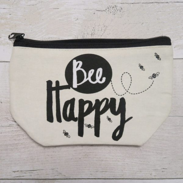Bee Happy Make Up Bag | £6.95