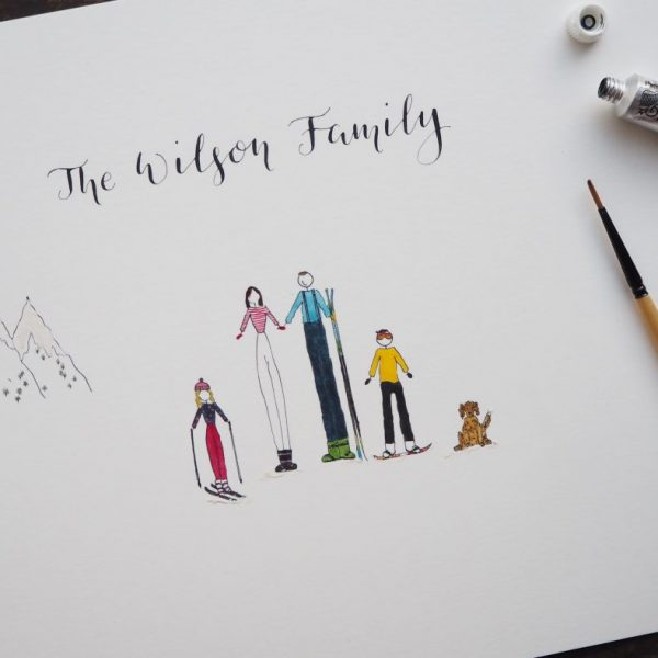 Mothers Day Gift Guide Personalised Family Portait.jpg