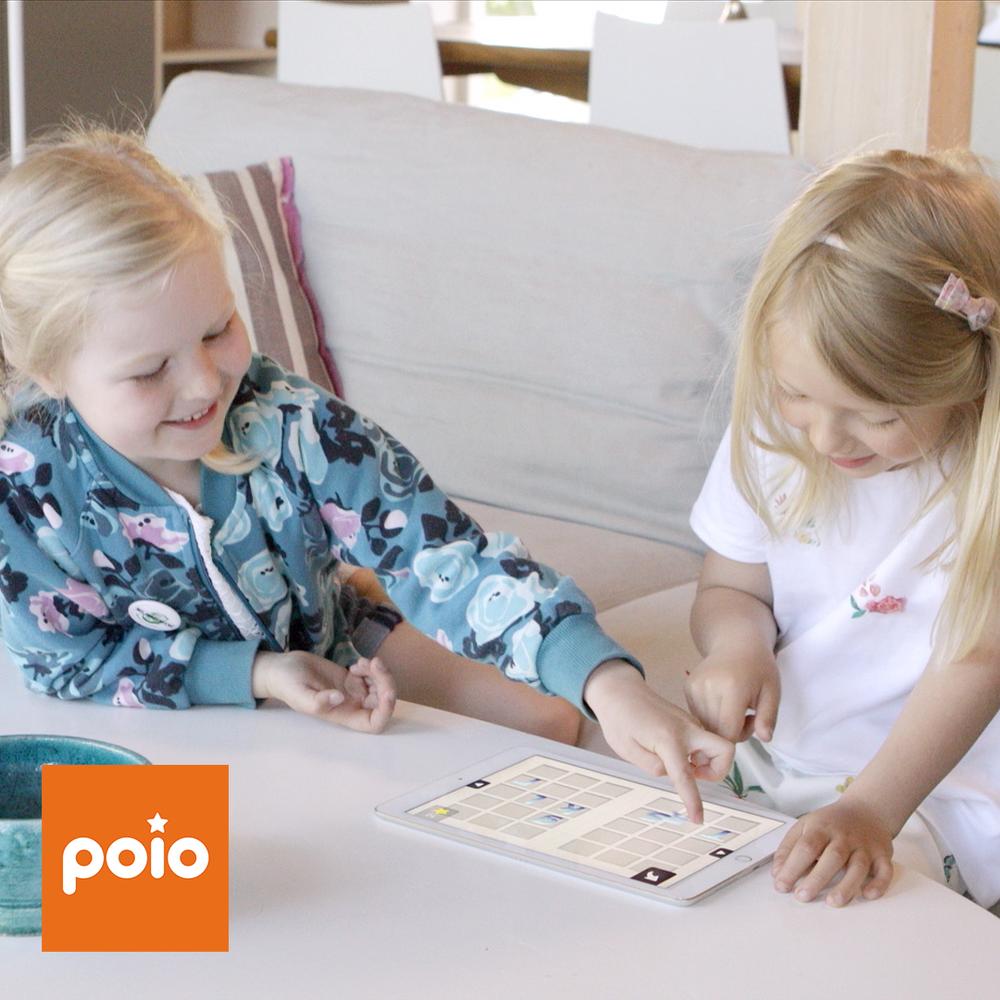 Poio hjelper barn å knekke lesekoden!