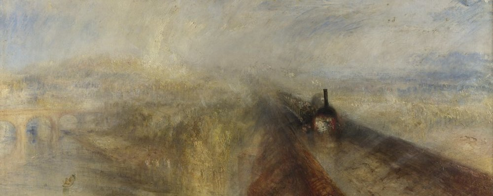 Rain, Steam and Speed, JMW Turner, 1844