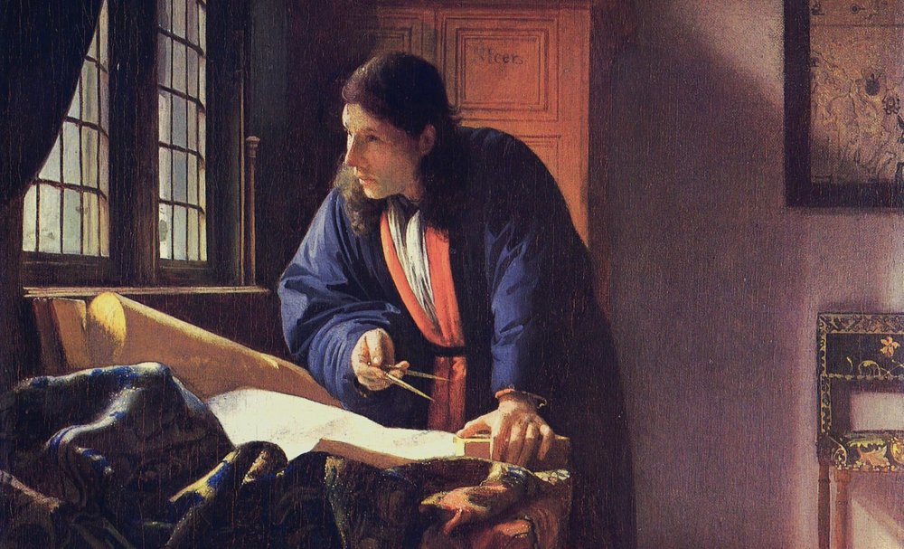 The Geographer, J Vermeer, 1668-1669