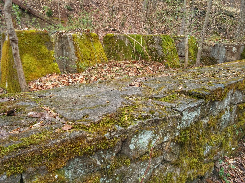 Ruined wall. Howard County, MD.