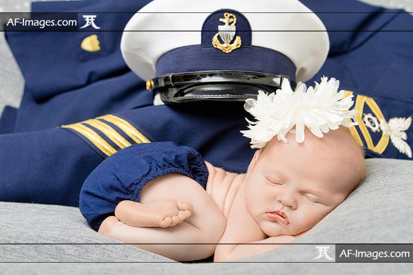 Naval Academy newborn photo. Annapolis, MD. (Copyright Angela Ferguson Photography 2016)