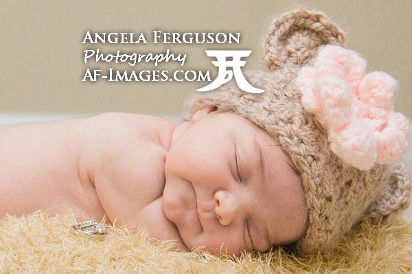 Newborn Portrait Photo by Angela Ferguson Photography, Millersville, MD.