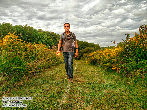Trail hiking, Baltimore, MD. (Copyright Angela Ferguson Photography)