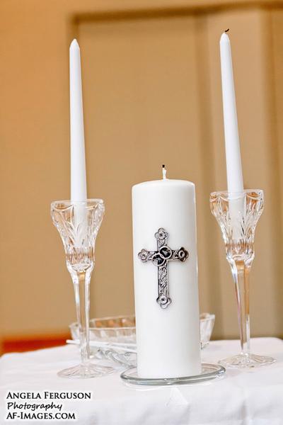 Wedding Candles (Copyright Angela Ferguson Photography)