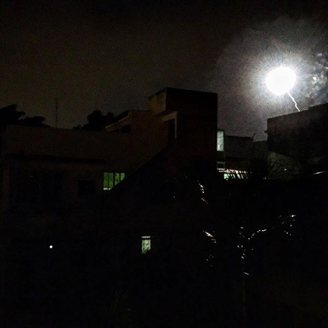 Météo-hérite #meteorite #feudartifice #night #riodejaneiro #rio #carnavalrio #bresil #love #partytime
