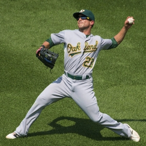 Sam Fuld, MLB Oakland Athletics - Type 1 Diabetic