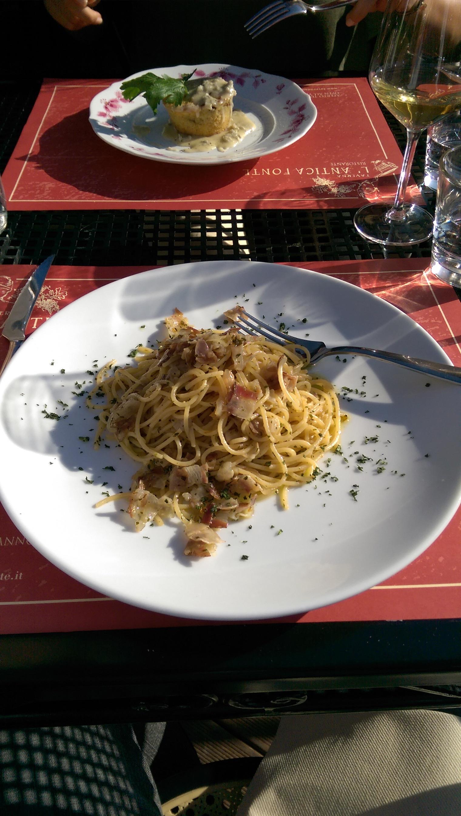 Certaldo Alto Restaurant