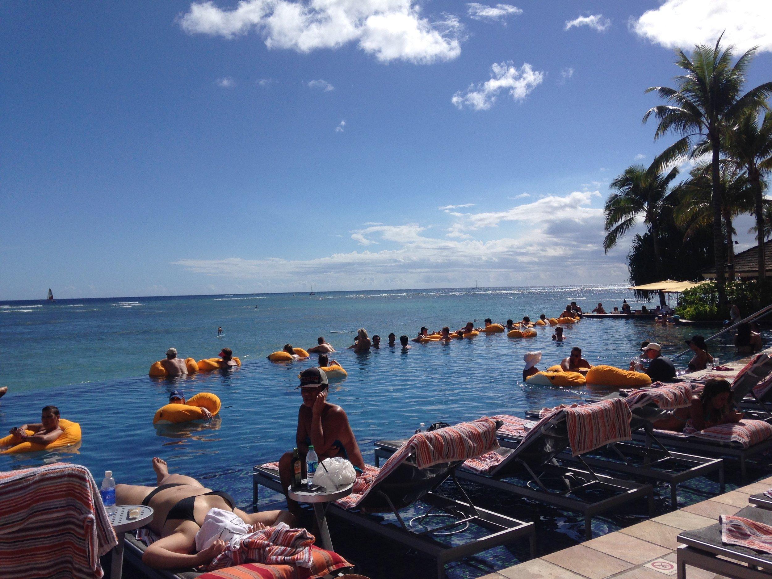 Oahu Sheraton Infinity Pool