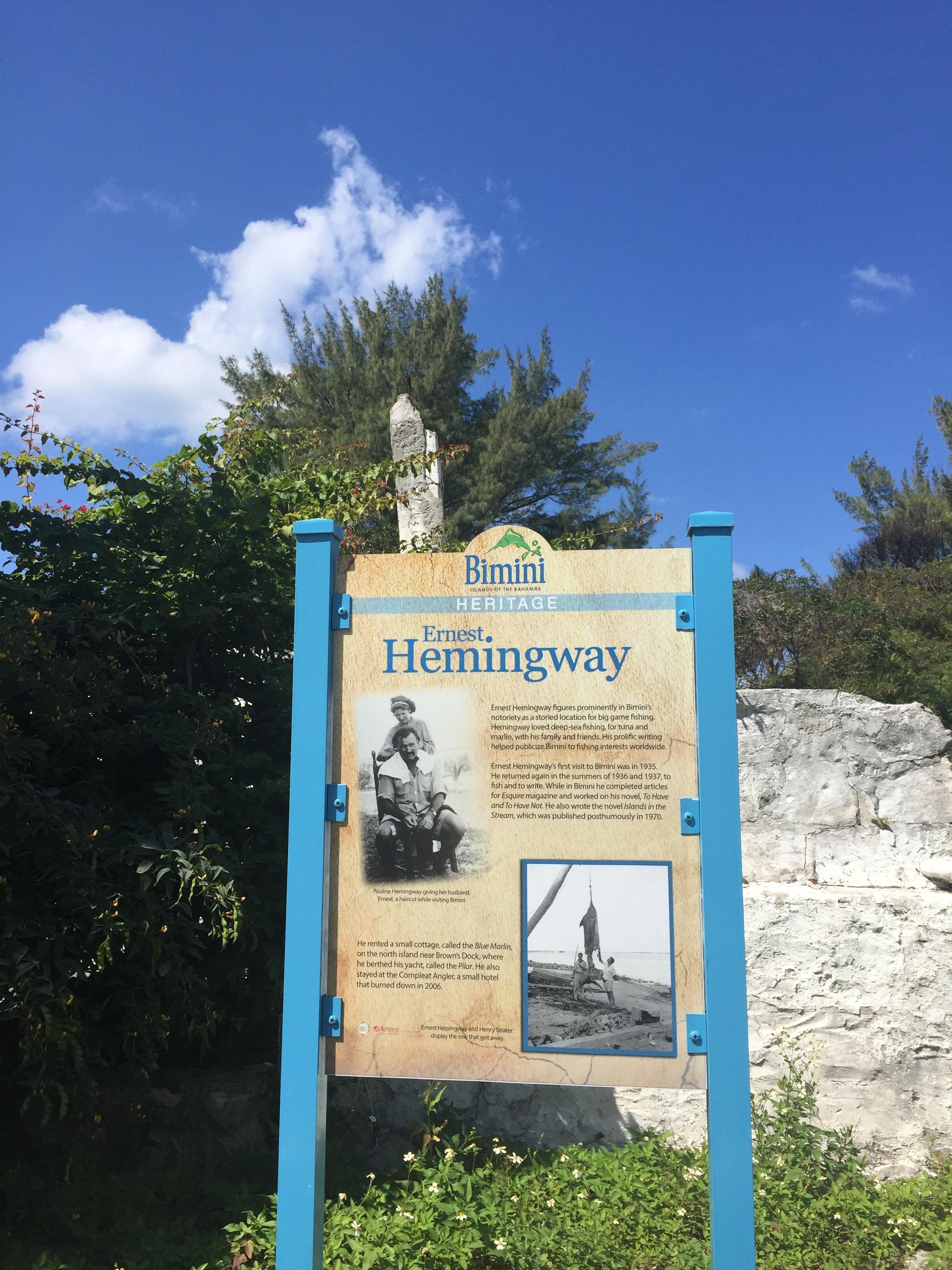 bimini hemingway