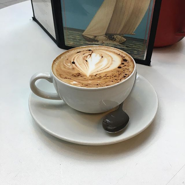 Morning cappuccino mmm