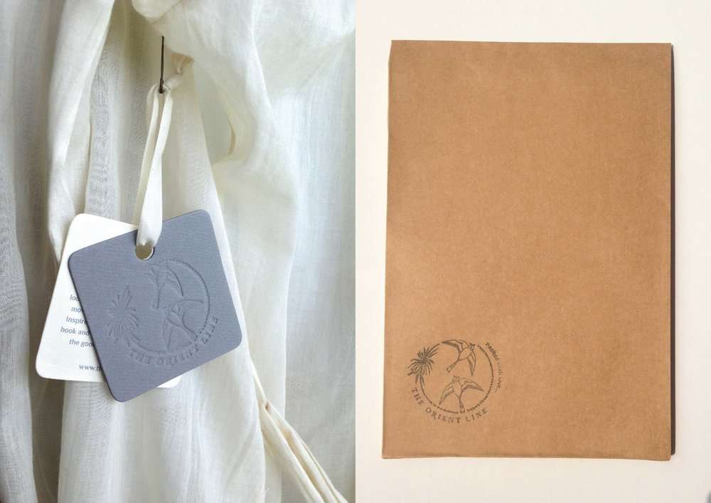 Hang Tag and Look book Envelope (with stamp)