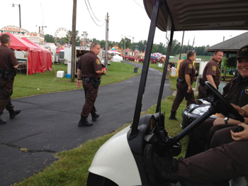 County Fair Security Duty