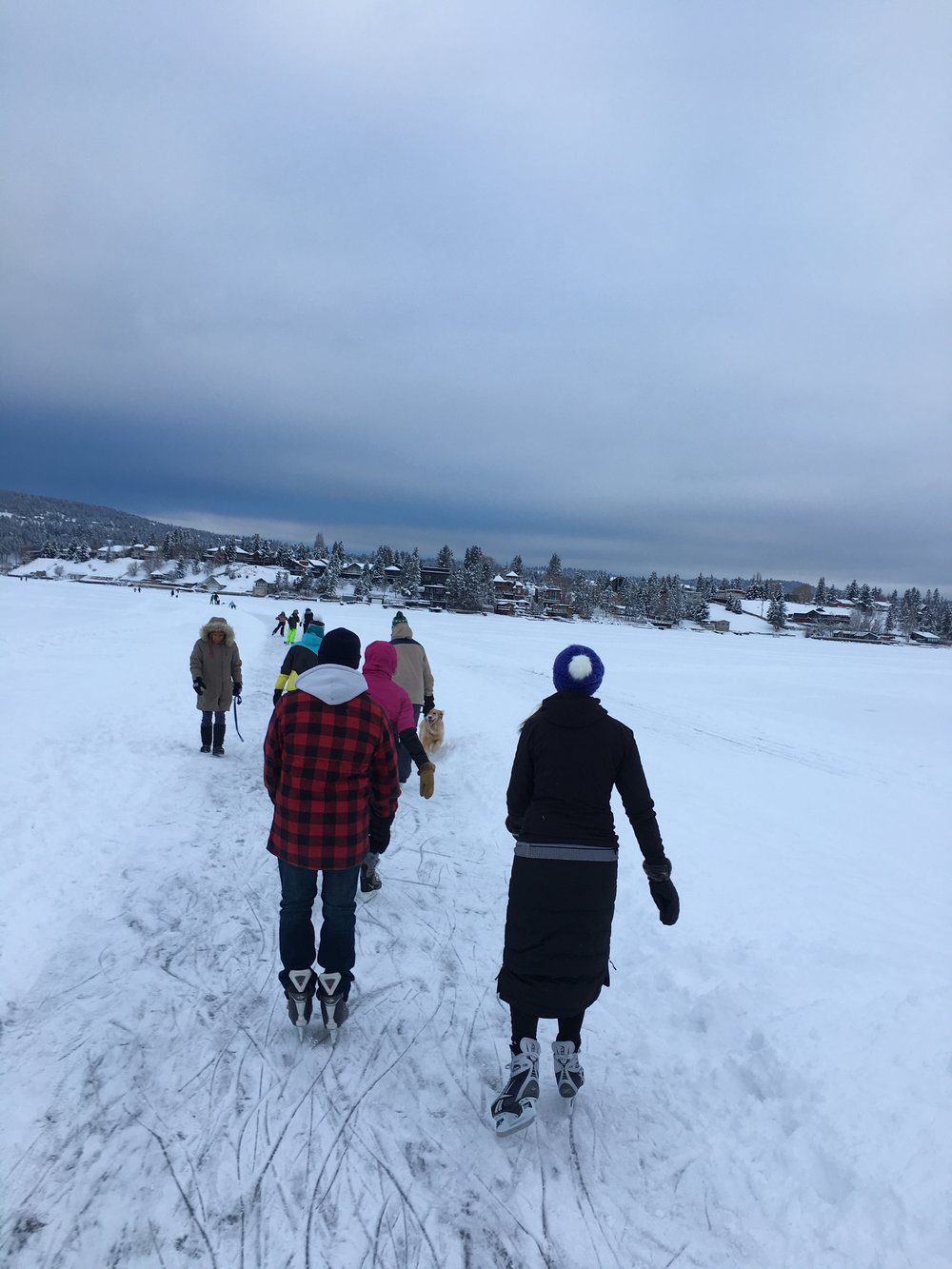 Fun Fact: Lake Windermere has the longest skating path in the world!