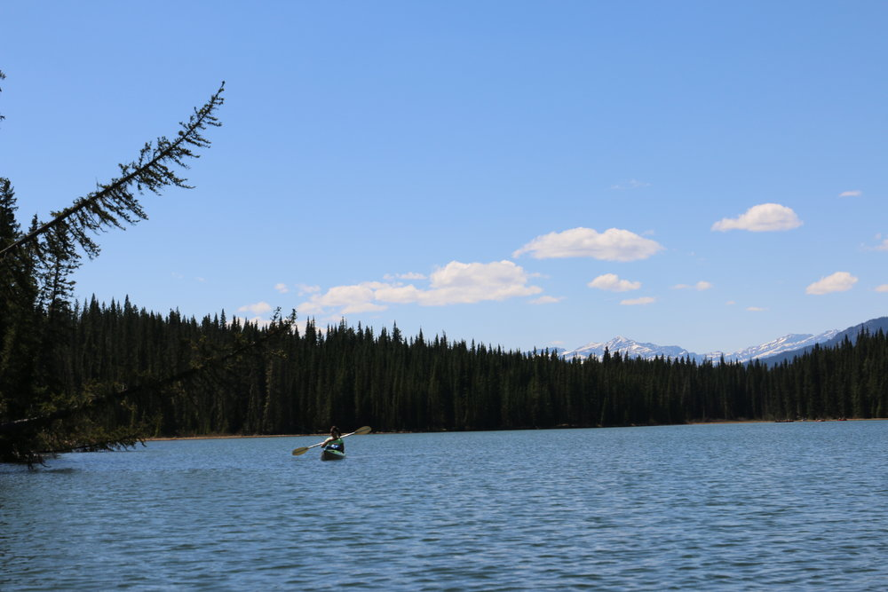 Fish Lake…where there were no fish to be caught
