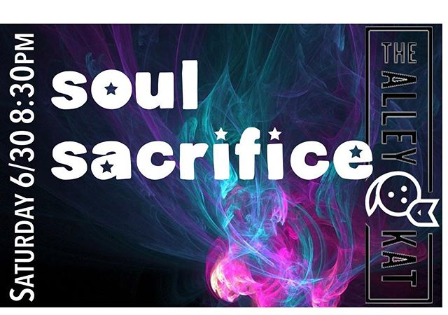Feeling #soulful?  Join us for #soulsacrifice Saturday night #thealleykatny #cocktails #draftbeer #soulmusic #hvnightlife