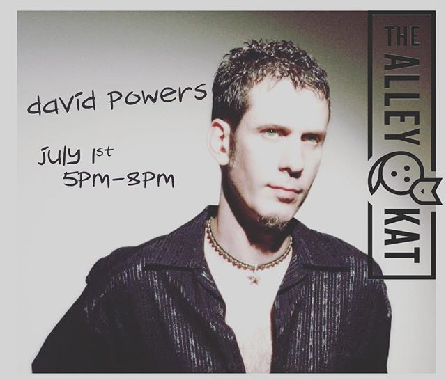 #acousticmusic with#davidpowers at #thealleykatny for our first patio performance!  #sundaywine #cocktails #draftbeer #burgers #woodfiredpizza