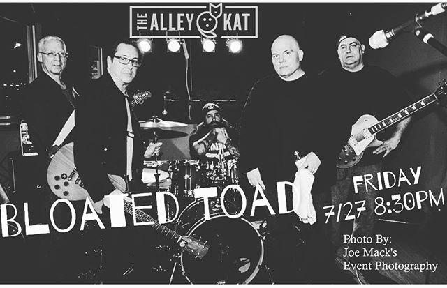 #bloatedtoad Friday night @ #thealleykatny #hvrocks #hvnightlife #cocktails #draftbeer #gourmetwoodfiredpizza