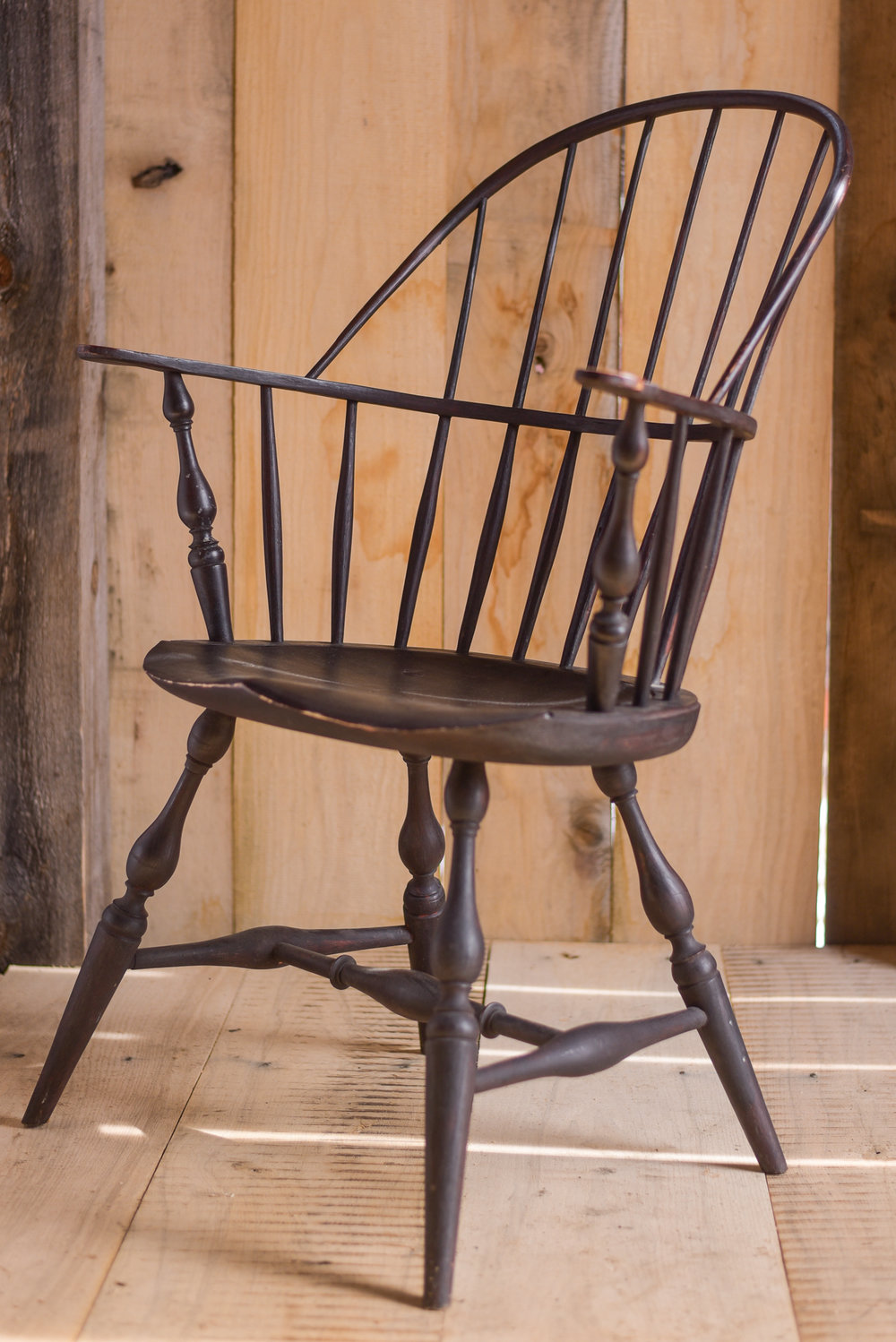 A bow-back style chair also from Jim's personal collection.
