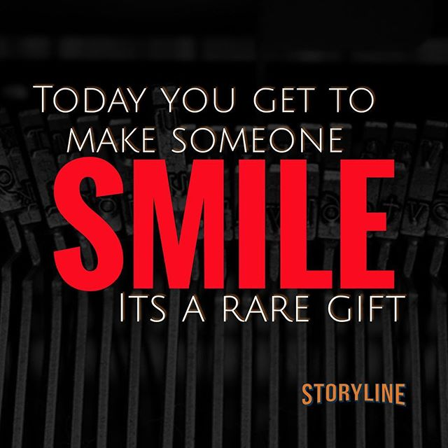 If you work a till at a fast food chain or own a small business, you can make someone smile today.  That, friends, is a gift.  Congrats!  #customer #customerservice #customerexperience #entrepreneur #marketing #smallbusiness #okanaganlife #motivation #solopreneur