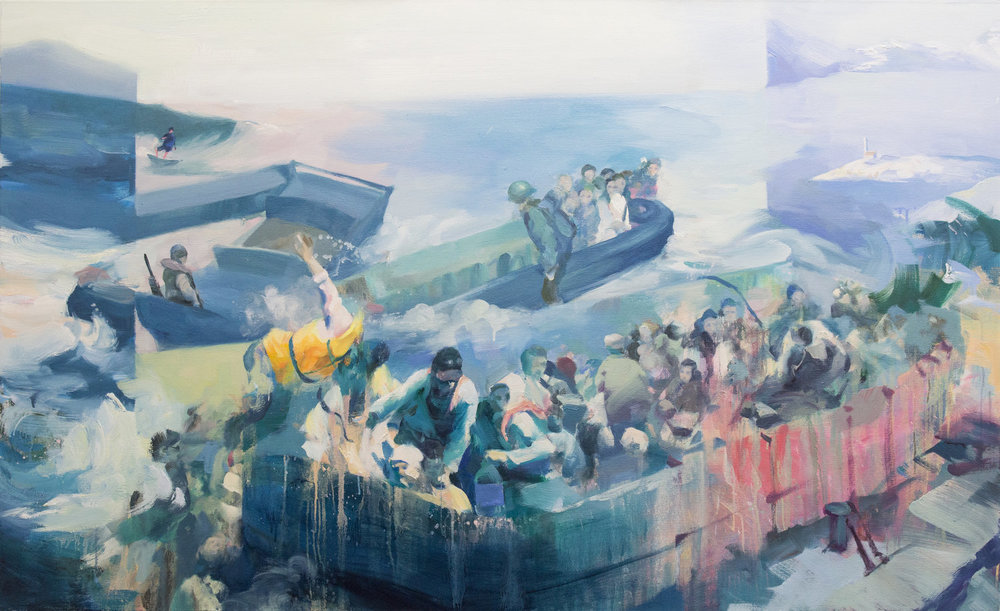 The+Boat+and+The+Sea+180x110cm+2017+.jpg