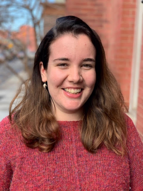 Isabel Fawcett - I sometimes get mistaken for a student but more often I'm called MOMS a.k.a. Manager of Missions and Services. I did ESM Rome in 2014-2015 and then worked as a youth minister in London. Now I'm super happy to be bringing some Englishness to the Bronx.